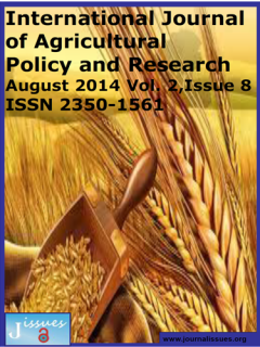 International Journal of Agricultural Policy and Research
