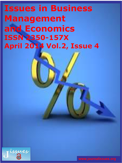 Issues in Business Management and Economics | | Journal Issues