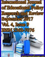 International Journal of Educational Policy Research and Review