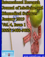 International Research Journal of Medicine and Biomedical Sciences